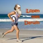 Lopen met Darwin logo
