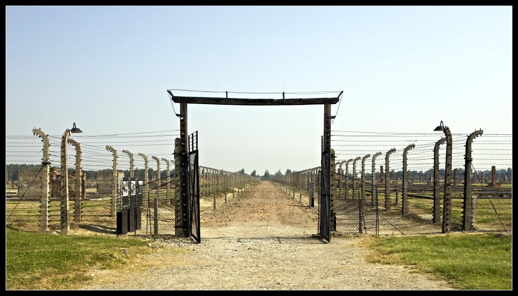 Concentratiekamp Auschwitz. Foto door Philip Milne