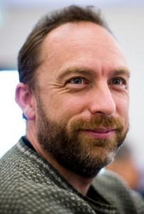 Jimmy Wales is oprichter van Wikipedia. Foto genomen door Joi Ito.