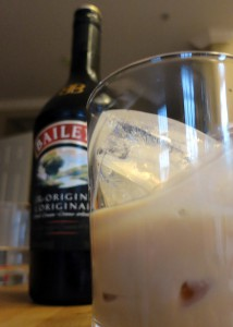 Foto van Bailey's in een glas