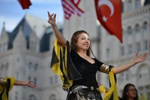 Feest tijdens Turks festival in Washington. (foto door S Pakhrin, cc/by 2.0)