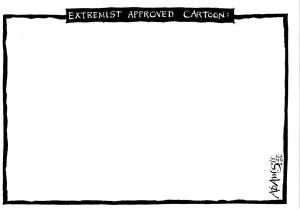Door Christian Adams, cartoonist voor The Daily Telegraph