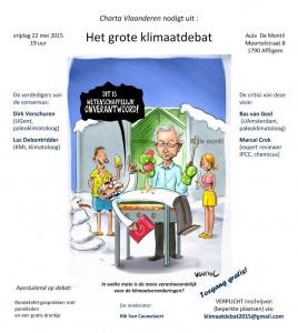 Het grote klimaatdebat 22 mei 2015