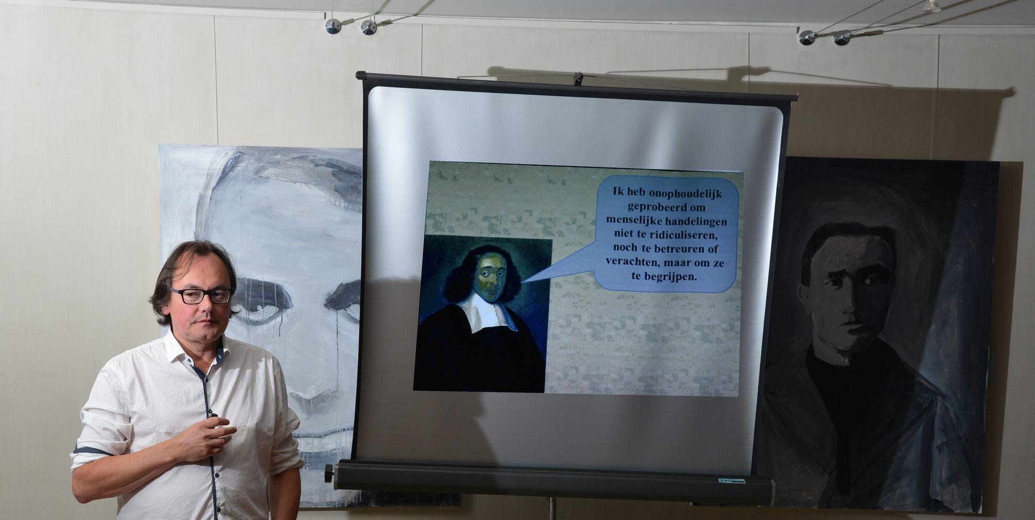 Johan Braeckman citeert Spinoza