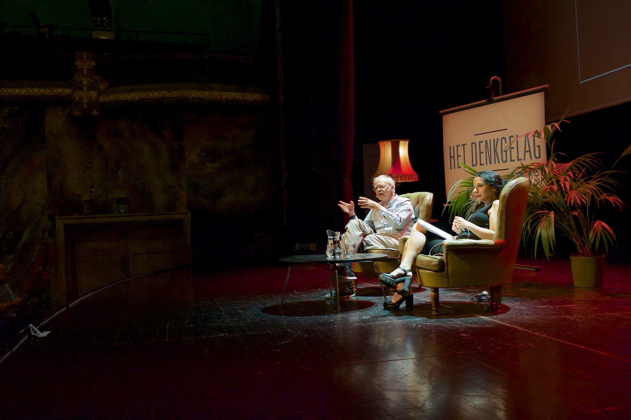 """Peter Singer op """"Het Denkgelag"""" in Gent"""