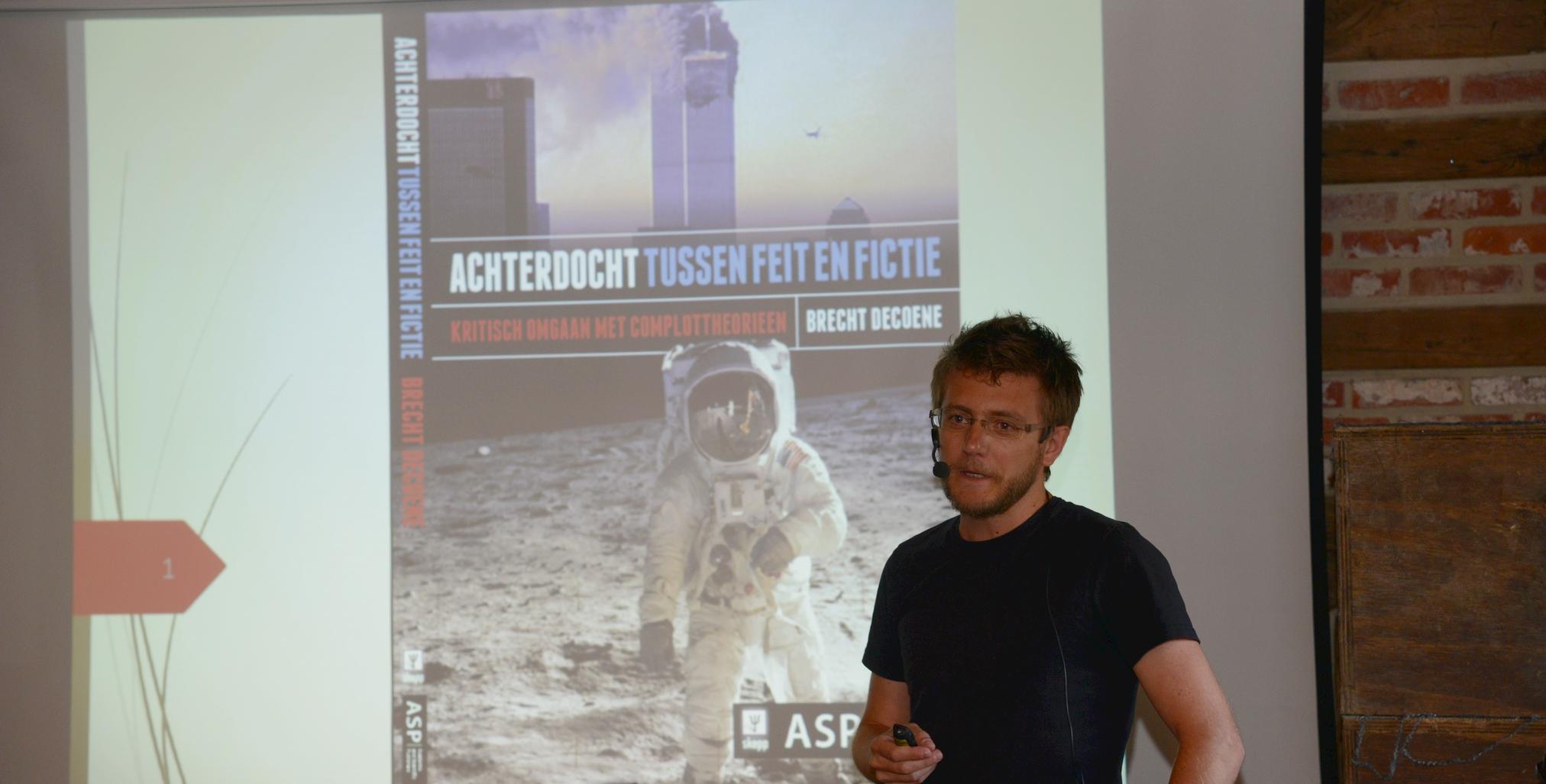 Brecht De Coene presenteert zijn boek