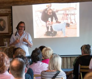 Johan Braeckman: Er was eens... (foto: Jozef Van Giel)