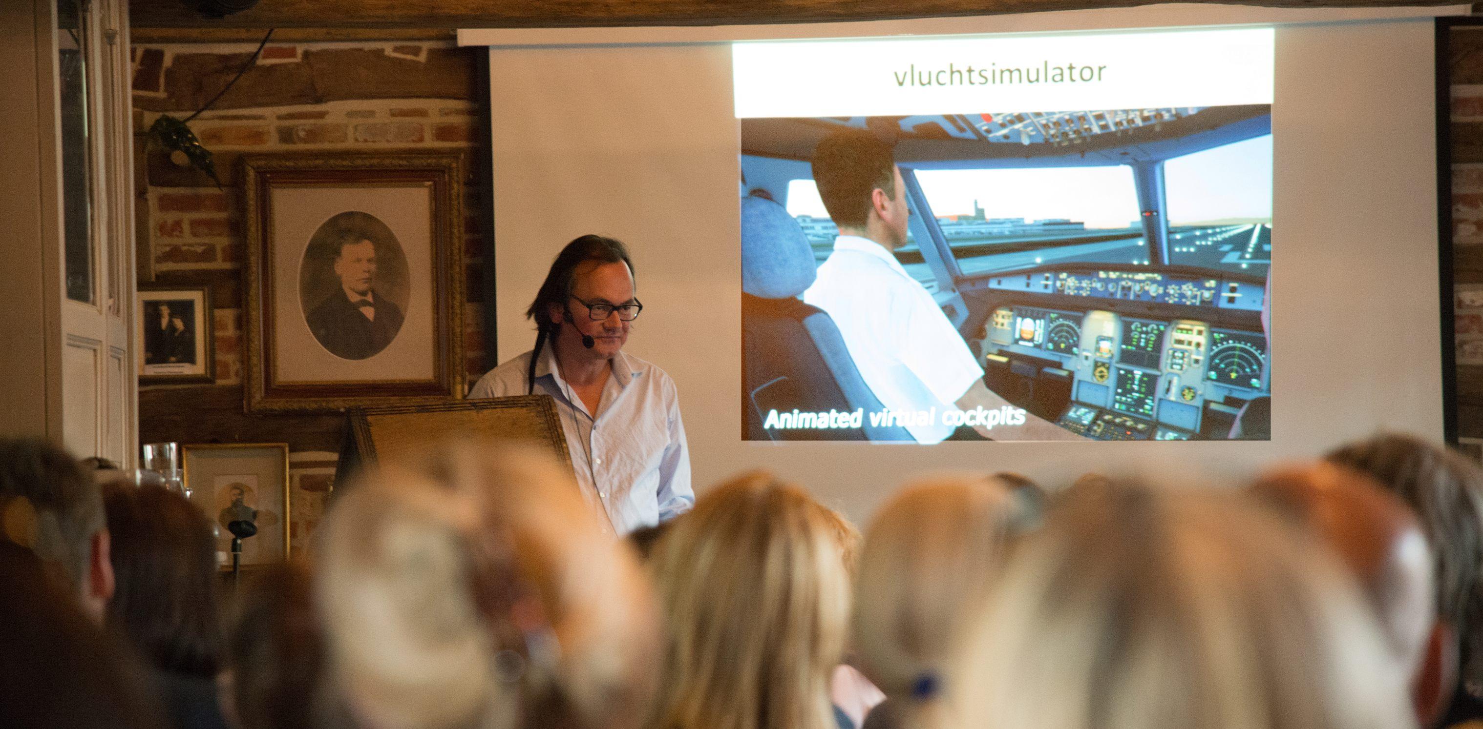 """Johan Braeckman: """"Er was eens..."""" (foto: Jozef Van Giel)"""