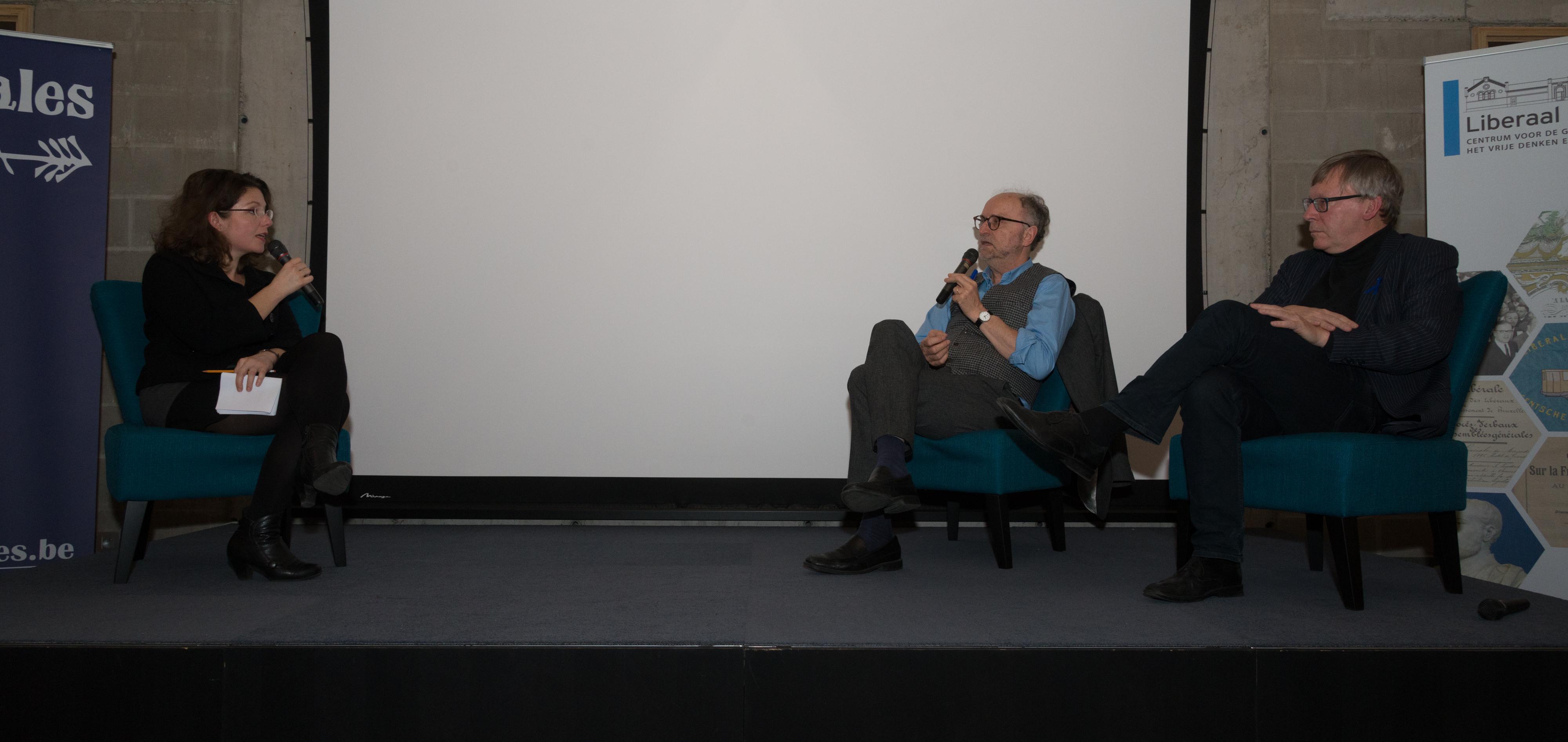 Tinneke Beeckman interviewt Paul Cliteur en Dirk Vehofstadt over het boek InNaamVanGod