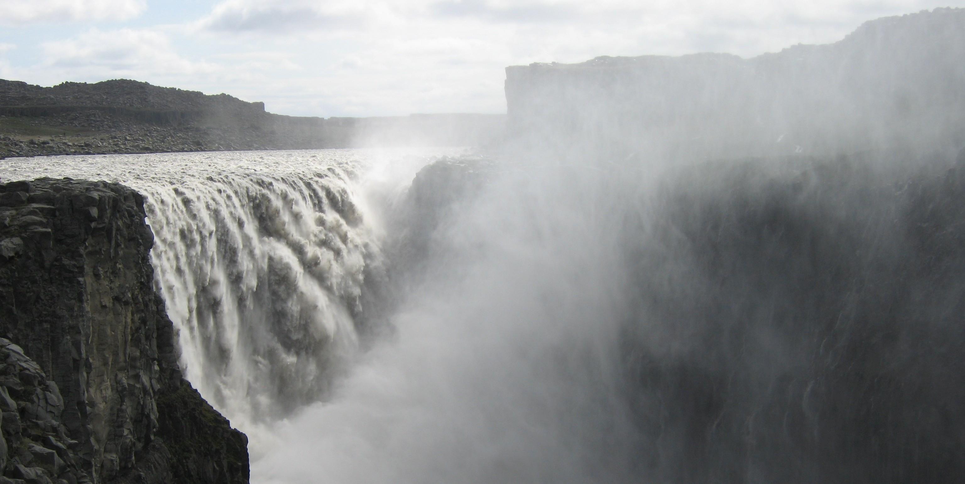 Detifoss IJsland (foto: Jozef Van Giel)
