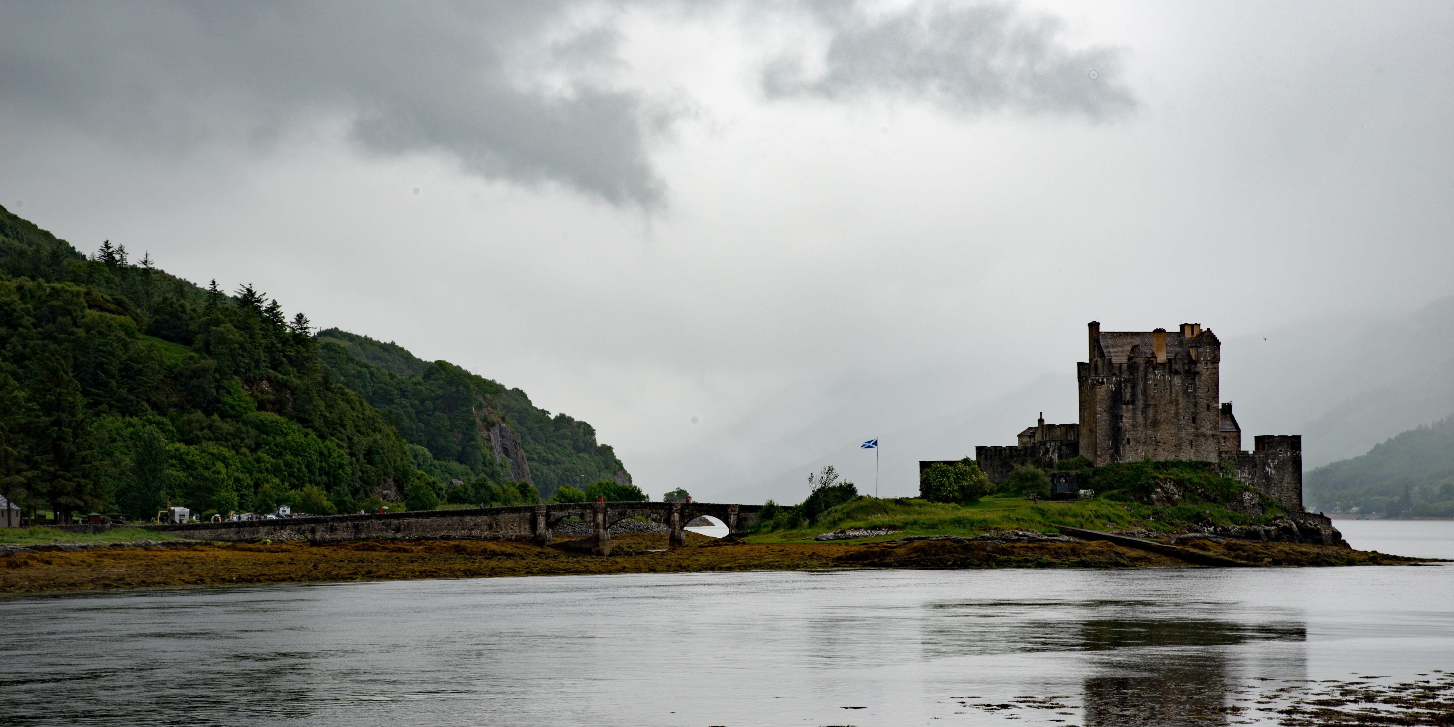Slecht weer in Schotland (foto: Jozef Van Giel)